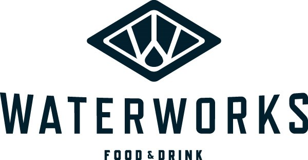 Waterworks Food + Drink logo. Links to homepage.